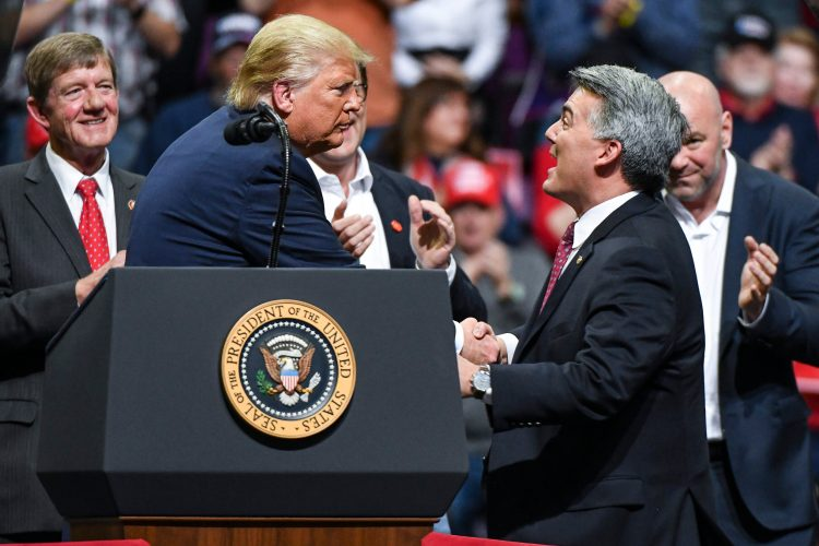 Cory Gardner Gardner 'Flatly Outnumbered' by Independents as He Seeks Re-Election in Colorado Senate Race (Eli Yokley/Morning Consult)
