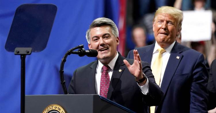 Cory Gardner Republican senators in tough races obscure their position on pre-existing conditions