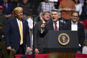 Cory Gardner Sen. Gardner, Trailing Hickenlooper in Colorado, Backs SCOTUS Seat Push