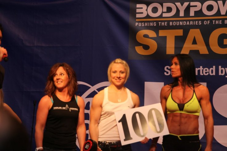 Ladies 8kg Dragan Challenge Winner