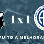 ABC 1 x 1 Confiança – Muito a melhorar | Copa do Nordeste