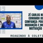 Zé Carlos no comando do Confiança: Poucas mudanças e muita motivação | Reagindo à coletiva