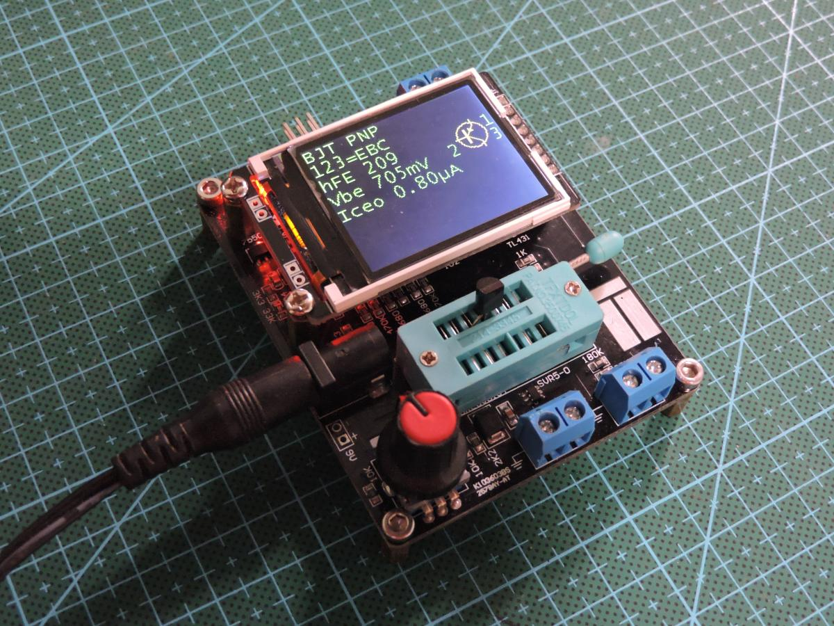 GM328A reverse engineering, new firmware and Tetris