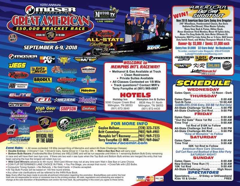 Great American Bracket Race
