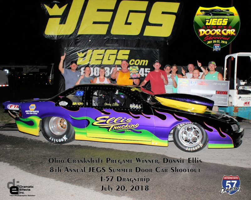 2018 jegs summer door car shootout ohio pregame winner