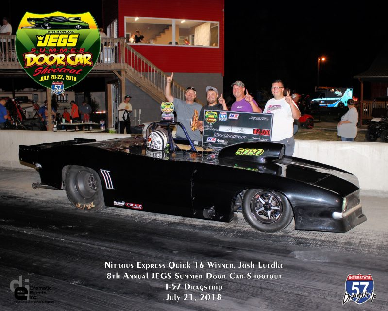 2018 jegs summer door car shootout quick 16 winner