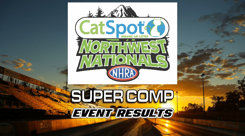2018 NHRA CatSpot Northwest Nationals Super Comp Results