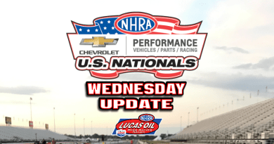 2018 NHRA US Nationals Sportsman Results - Wednesday
