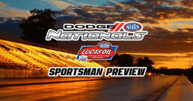 2018 NHRA Dodge Nationals Sportsman racing event preview