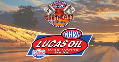 NHRA Division 2 Lucas Oil Drag Racing Series Results