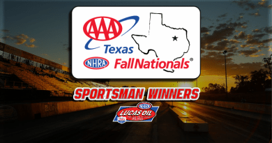 2018 AAA Texas Fall Nationals Sportsman Class Winners