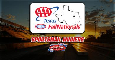 2018 AAA Texas Fall Nationals Sportsman Class Winners