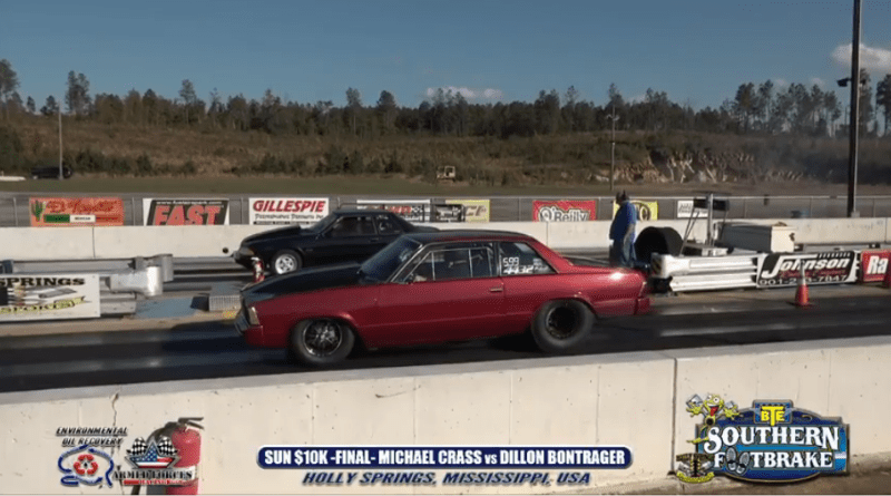 2018 Southern Footbrake Challenge Sunday 10K Final Round Dillon Bontrager vs Michael Crass