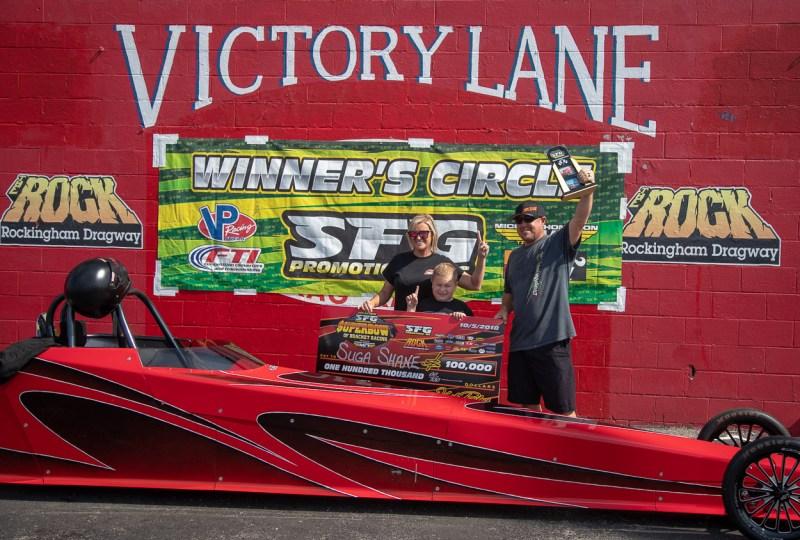 Suga Shane Carr SFG 100k winner at SFG Super Bowl