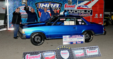 Toby Daniels 2018 IHRA World Champion