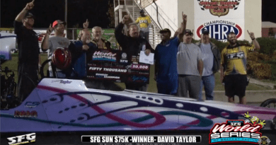 2018 SFG World Series of Bracket Racing Sunday 75K winner david taylor