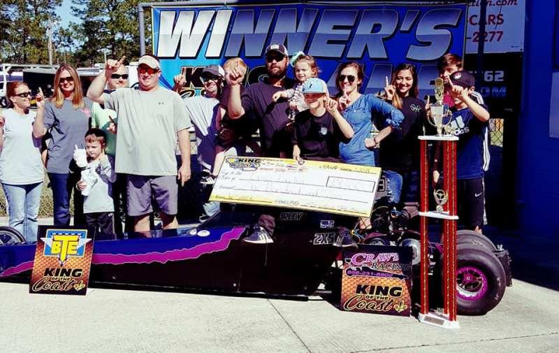 Bryce Fairley BTE KOC Saturday Jr Dragster Winner