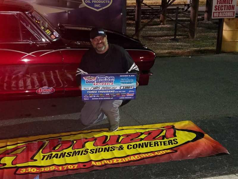 Chris Mancini 2018 Loose Rocker American Doorslammer Nationals Sunday 10k Runner-up