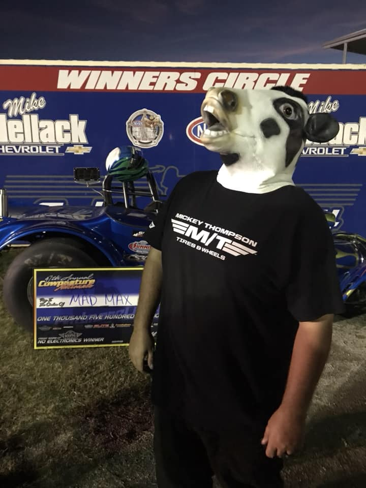 Mad Max McGlothin Friday NO E Winner at 2018 Cowpasture Nationals