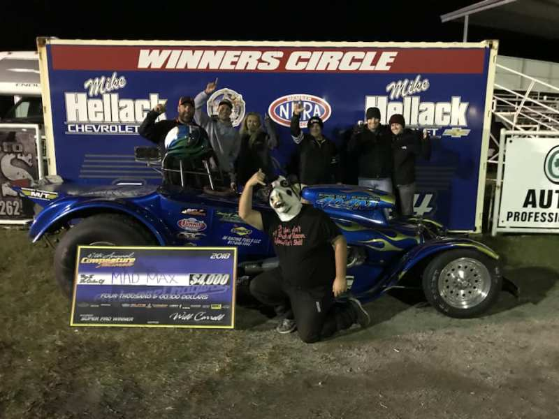 Mad Max McGlothin Saturday Super Pro Winner at 2018 Cowpasture Nationals