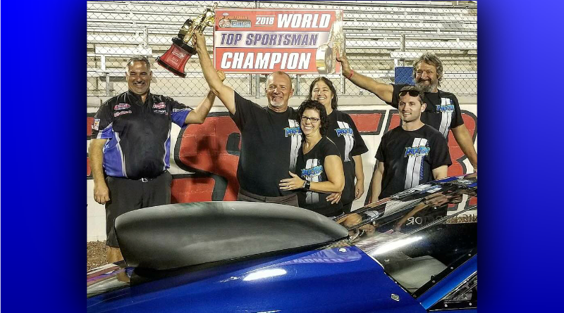 Ronnie Proctor 2018 NHRA Top Sportsman World Champion