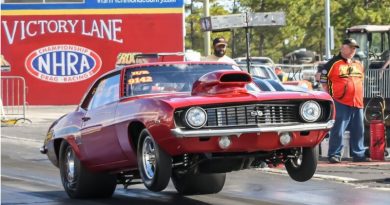 Travis Harvey Sunday Winner at Rockingham Dragway