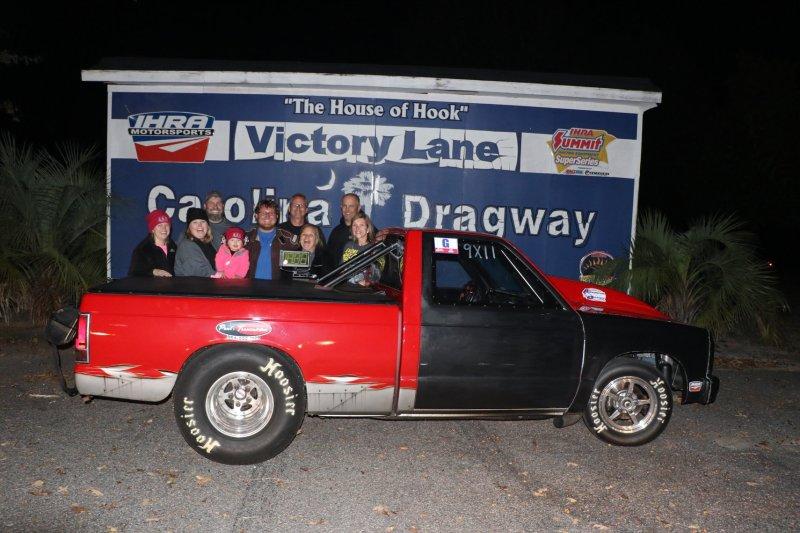 Tyler Mosley Carolina Dragway saturday shootout runner up nov 17 2018