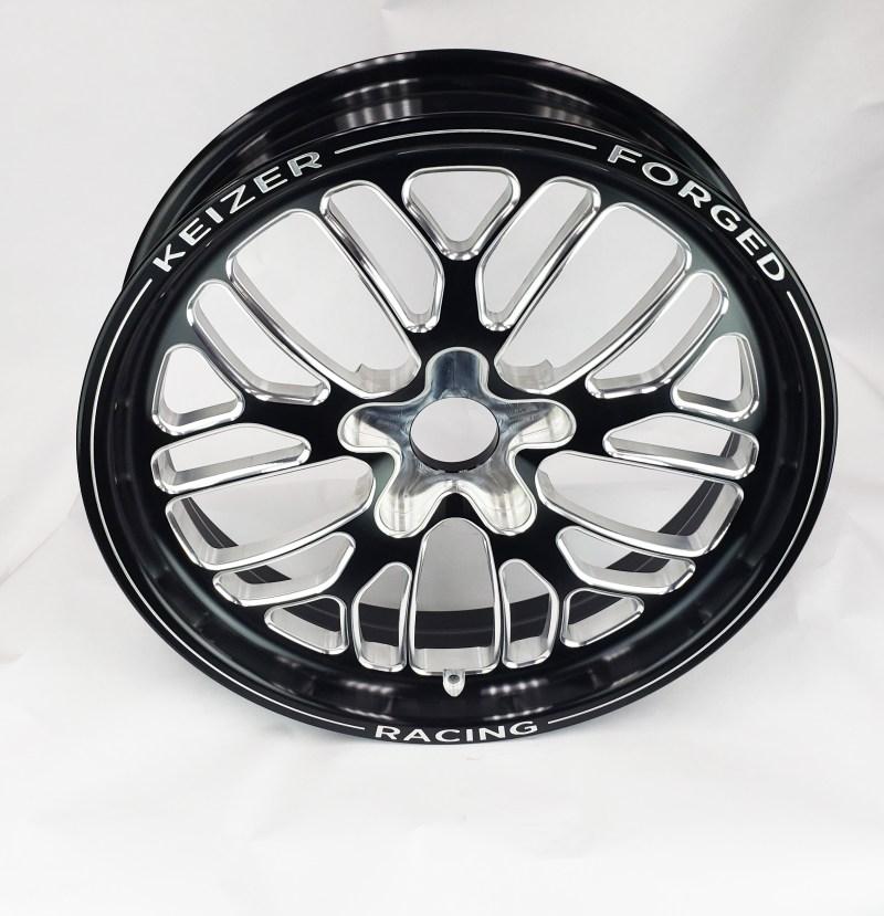 Keizer Aluminum Wheels 17 Beurt Black