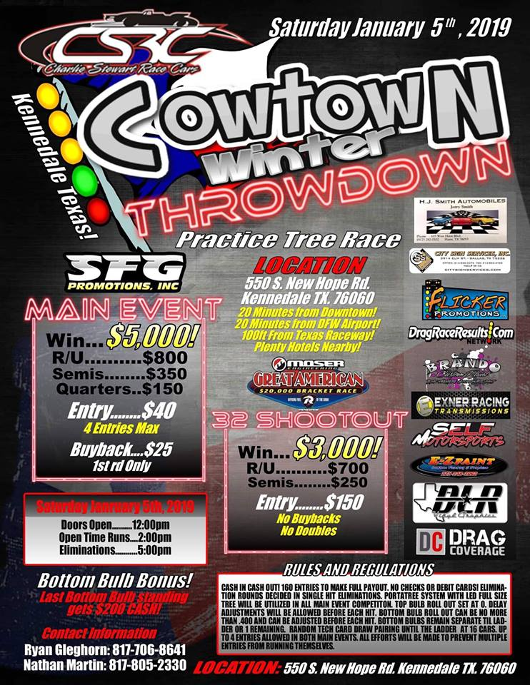 Cowtown Winter Throwdown 2019