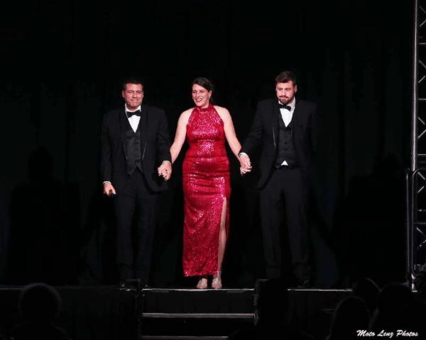 Bill Bader Jr., Bobbie Bader and Evan Bader
