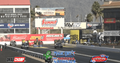 2019 NHRA Arizona Nationals Day 2 Sportsman Results