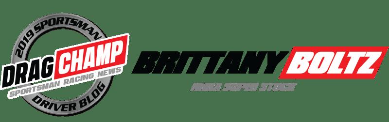 Brittany Boltz dragchamp racer blog