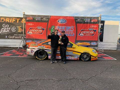 Justin Lamb Super Stock Winner with Kyle Seipel