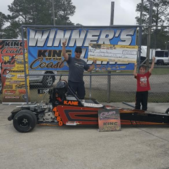 Kane Kern KOC 7-9 jr dragster winner 021719