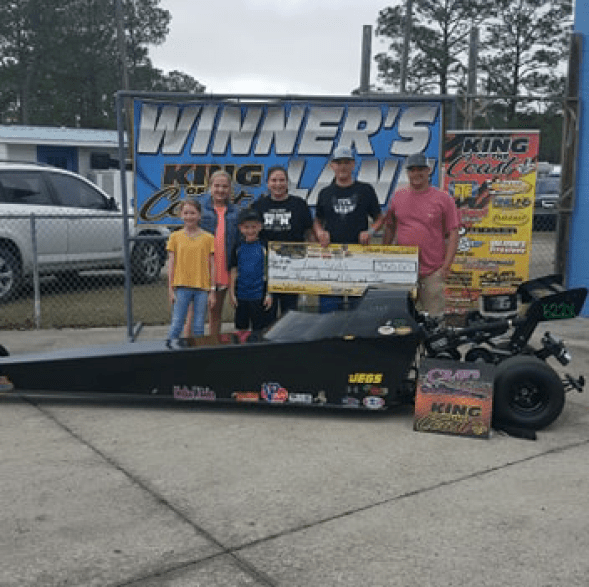 Lane Scott KOC 13-17 jr dragster winner 021719