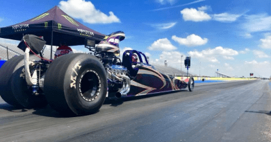 Michael Holcombe dragster