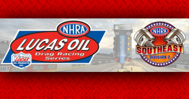 NHRA Southeast Division 2 LODRS