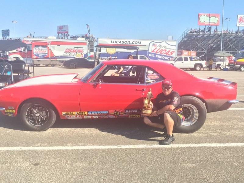 Chase Huffman Fall Nationals Champion