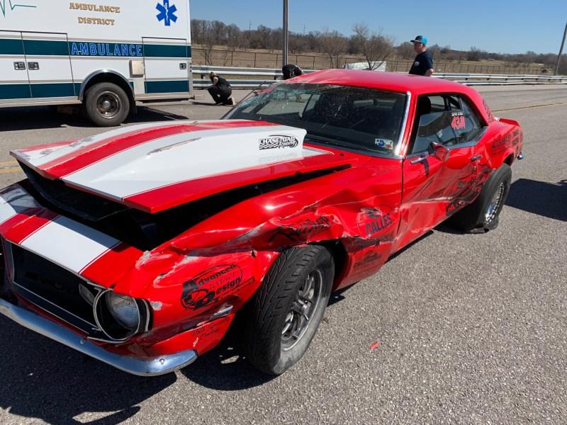 Chase Huffman Camaro Wreck