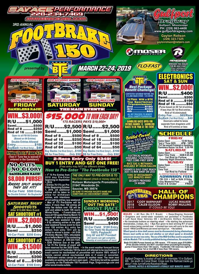 Footbrake 150 Flyer