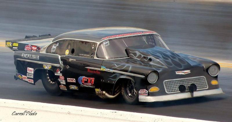 Lester Johnson 55 Chevy Top Sportsman