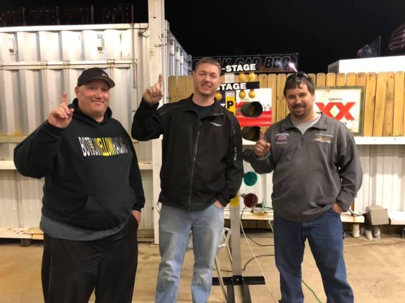 Lucas Walker Texas Triple Tens Practice Tree Race winner