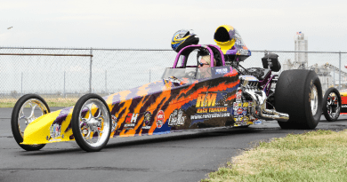 Moline Motorsports teams with Stroud Safety