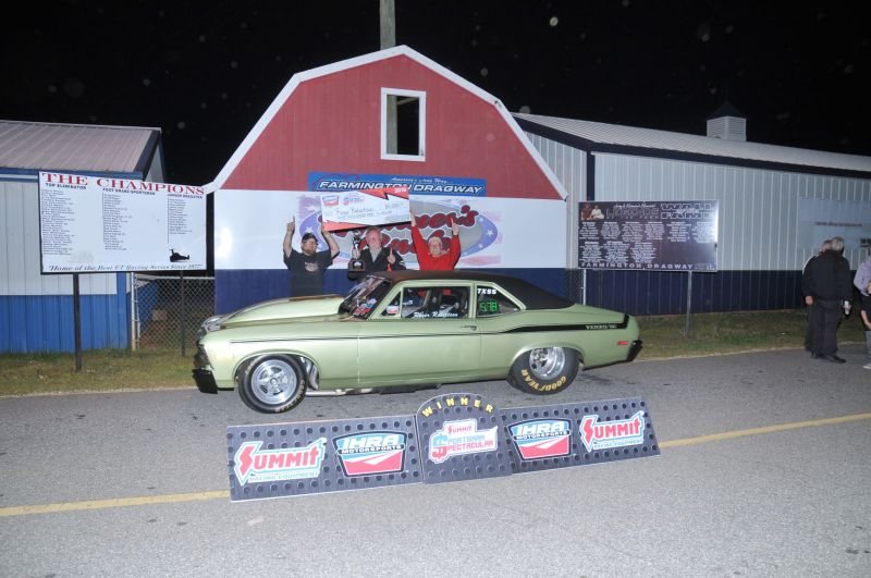 Roger Robertson d2 top wnr2 - ihra results from farmington dragway