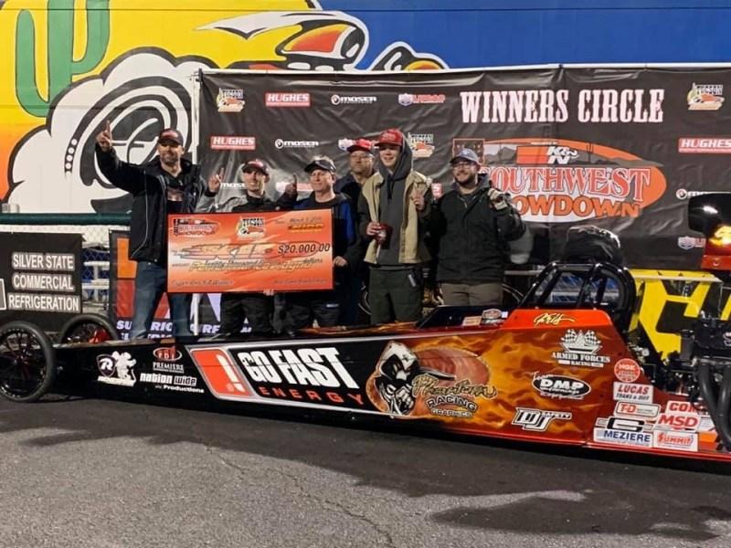 Kris Whitfield 2019 Southwest Showdown 20k winner