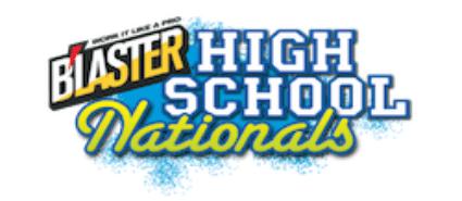 Blaster High School Nationals logo
