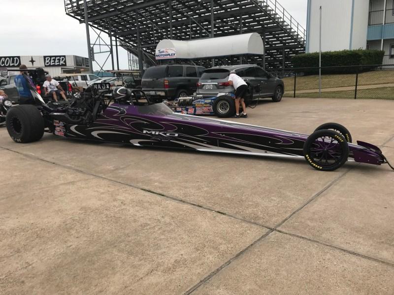 Mario Boesch Top Dragster Winner D4 LODRS Texas Motorplex