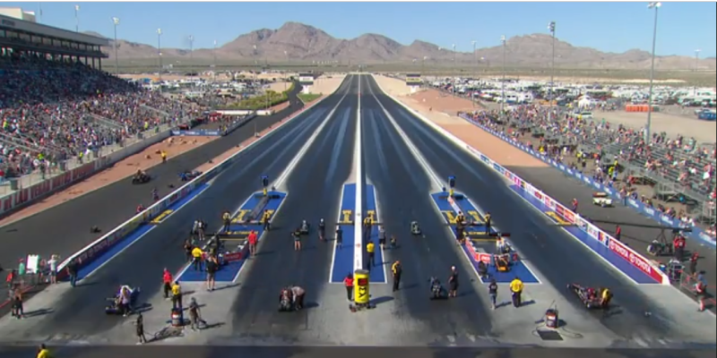 NHRA Four Wide Nationals Las Vegas