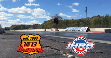US 13 Dragway renews with IHRA
