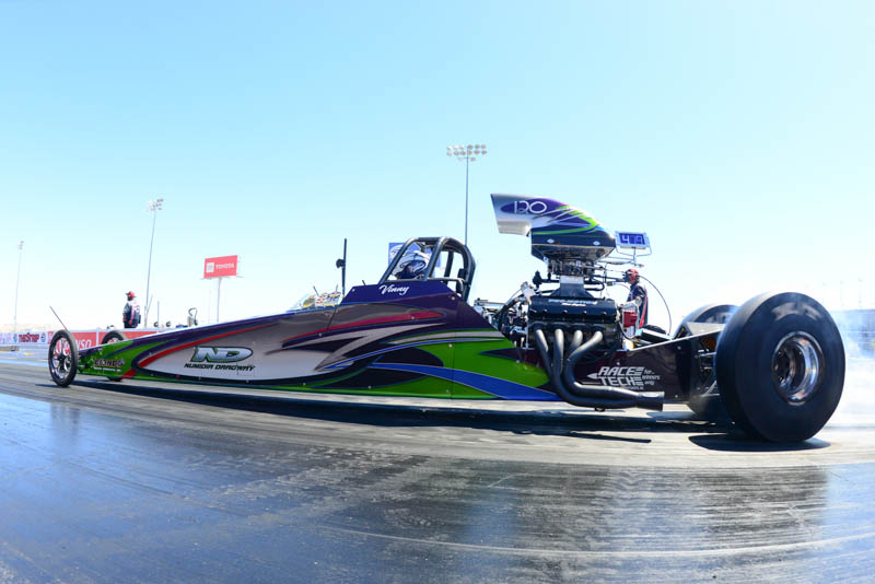 Vinny Dimino wins Spring Fling Vegas Saturday race
